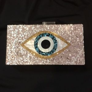 Acrylic clutch bag